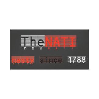 NATI desagradable (Cincinnati) envolvió la impresi Lienzo Envuelto Para Galerías