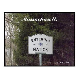 Natick, Massachusetts Postcard