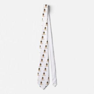 Natillas congeladas corbata personalizada
