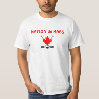 NATION de HABS Tee Shirt
