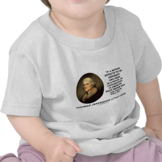 Nation Expects Ignorant Free Never Was Never Will Shirt