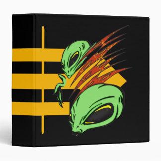 Nation of Aliens 3 Ring Binder