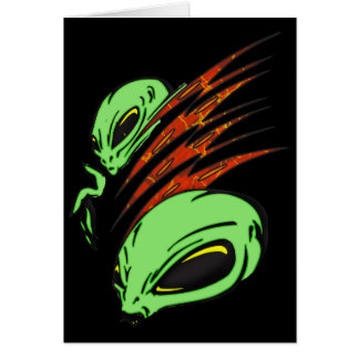 Nation of Aliens Card