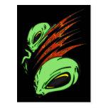 Nation of Aliens Postcard