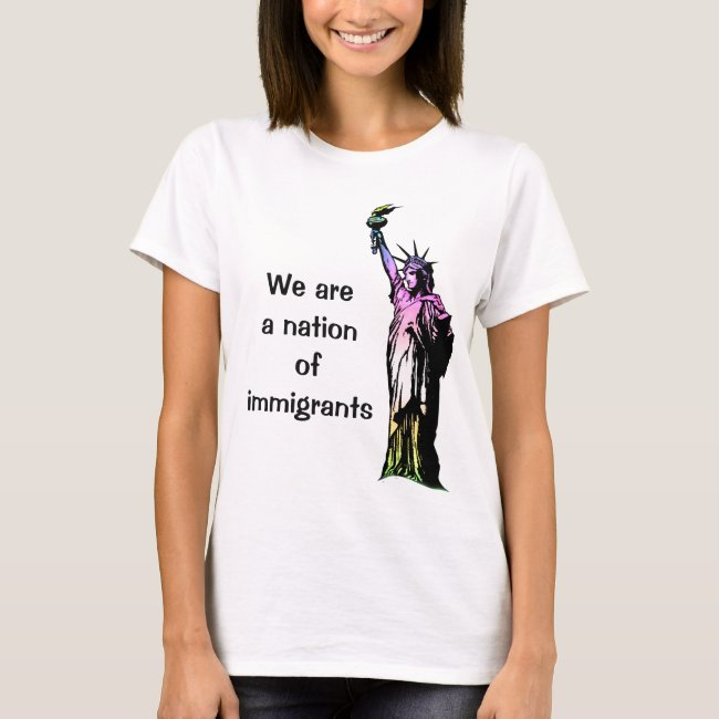 Nation of Immigrants Rainbow Shirt