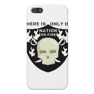NATION ON FIRE - THERE IS ONLY ONE CASE FOR iPhone 5