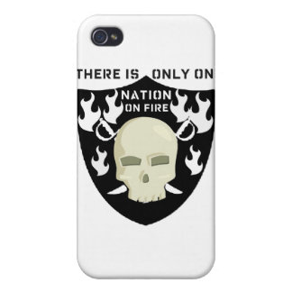 NATION ON FIRE - THERE IS ONLY ONE iPhone 4/4S COVERS
