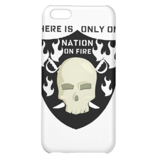 NATION ON FIRE - THERE IS ONLY ONE COVER FOR iPhone 5C