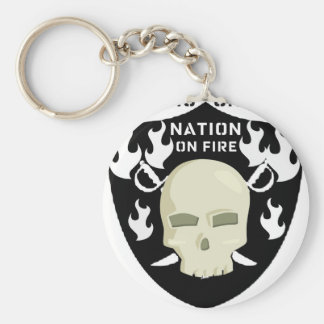 NATION ON FIRE - THERE IS ONLY ONE KEYCHAIN