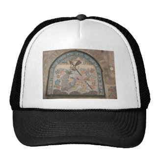 Nation shall not lift the sword against nation trucker hat