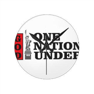 nation under god round clock