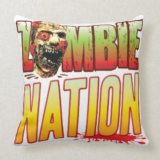 Nation Zombie Head Pillows