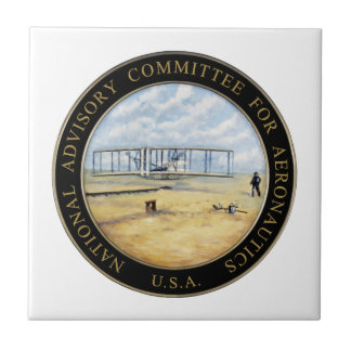 National Advisory Committee for Aeronautics Logo Tile