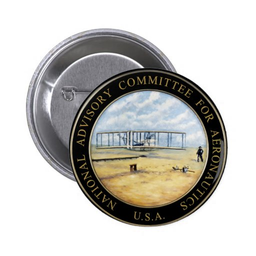 National Advisory Committee for Aeronautics (NACA) Pins ...