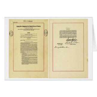National Aeronautics and Space Act of 1958 Card