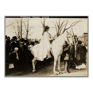 National American Woman Suffrage Assoc. Parade Poster