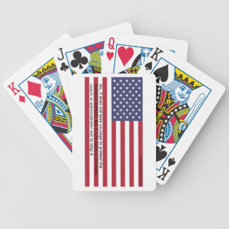 National Anthem Protests Bicycle Playing Cards