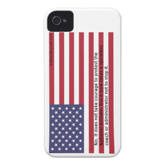 National Anthem Protests iPhone 4 Cover