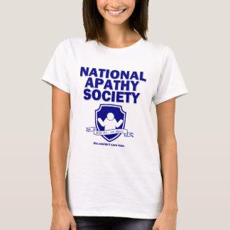 National Apathy Society T-Shirt