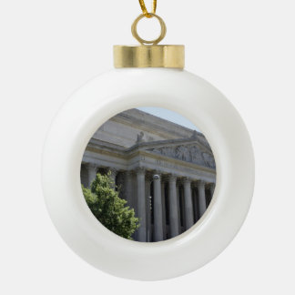 National Archives Ceramic Ball Christmas Ornament