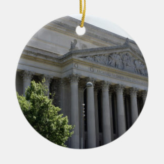 National Archives Ceramic Ornament