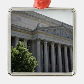 National Archives Metal Ornament