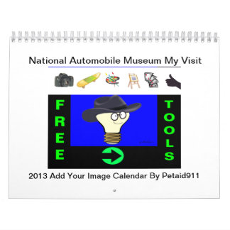 """National Automobile Museum In Reno"" Add Image Calendar"