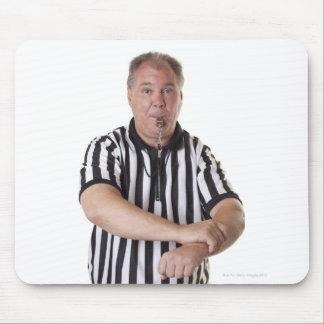 National Basketball Association (NBA) Holding Mouse Pad