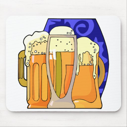 National Beer Day April 7 Mouse Pad