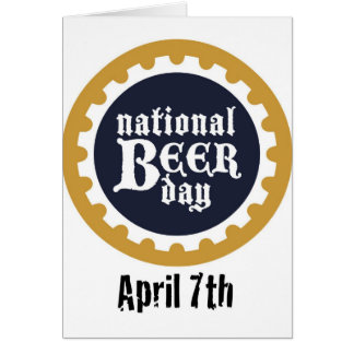 National Beer Day Card