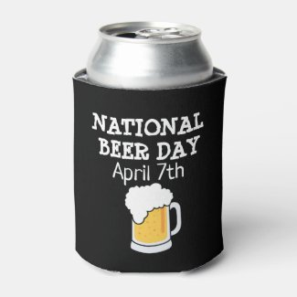 National Beer Day Cold Bubbles Bottle Cooler