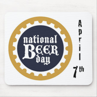 National Beer Day Mouse Pad