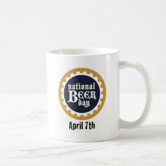 National Beer Day Classic White Coffee Mug
