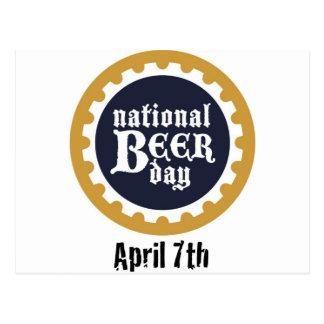 National Beer Day Postcard