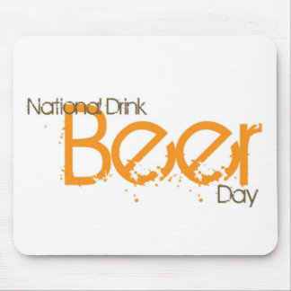 National Beer Day products Mouse Pad