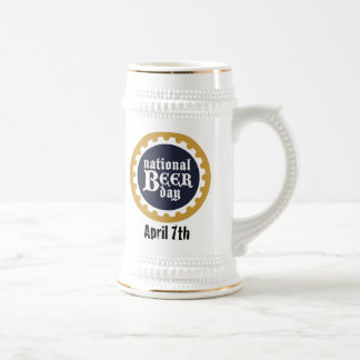National Beer Day Stein Coffee Mug