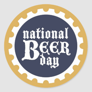 National Beer Day Sticker