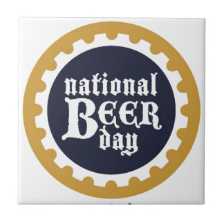 National Beer Day Tile