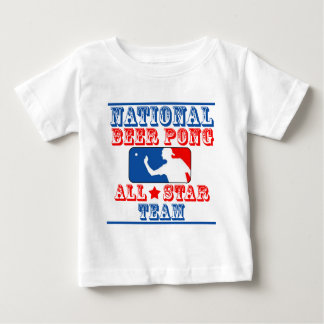 National Beer Pong Team Baby T-Shirt