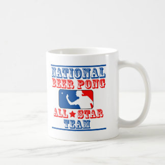 National Beer Pong Team Coffee Mug