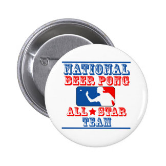 National Beer Pong Team Pinback Button