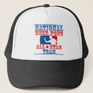 National Beer Pong Team Trucker Hat