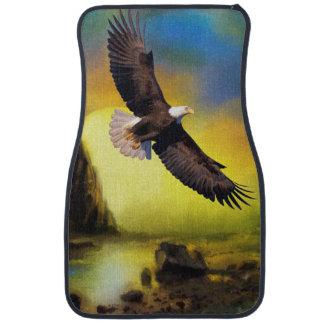 National Bird of America Bald Eagle Soaring Car Floor Mat