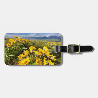 National Bison Range Luggage Tag