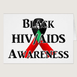 National Black HIV/AIDS Awareness Day Card