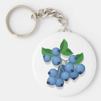 National Blueberry Month Key Chains
