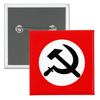National Bolshevik Party, Colombia Political 2 Inch Square Button