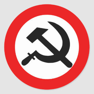 National Bolshevik Party, Colombia Political Round Sticker