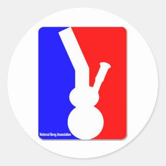 National Bong Association Classic Round Sticker