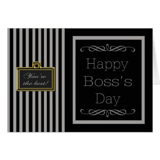 National Boss's Day Card